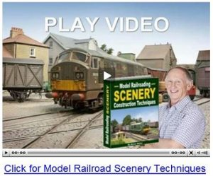 Model Trains Scenery Techniques