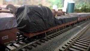 How to make tarpaulins for your model railway wagons