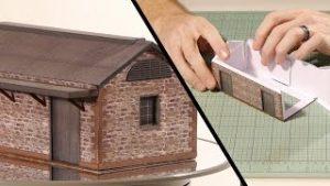 Paper Building Kits – Model Railroad Scenery