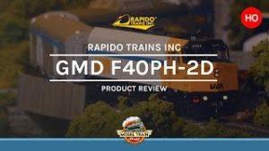 HO Scale Rapdio Trains Inc GMD F40PH-2D