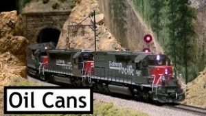 "Colorado Model Railroad Museum Feb 2019 Extreme Trains  – ""The Oil Cans"""
