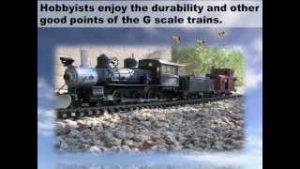 G Scale Model Trains