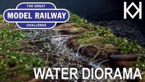 Great Model Railway Challenge Water Diorama