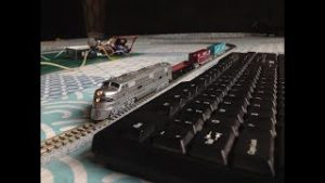 Keyboard controlled model train V2.0 | Arduino based | PS/2 interface