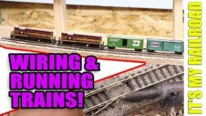 054: Connecting Wires and Running Trains!