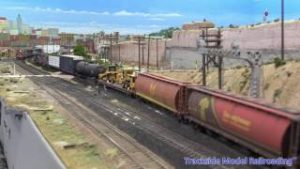 Great Model Railroad Layout of Mike McGinley's freelanced HO Scale Layout.