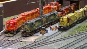 2018 National Model Railroad Association Show in Kansas CIty 1