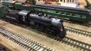 GARDEN RAILWAY AND S GAUGE TRAINS AT THE MODEL TRAIN SHOW 2019