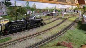 Dave`s Model Railway with Smoke