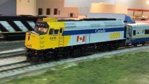 Amazing Canadian model railroad layout in HO scale | VIA Train