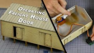 Build, Paint & Animate a Working Freight House – Model Railroad Scenery