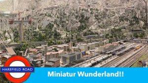 The WORLDS BIGGEST model railway. Miniatur Wunderland