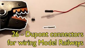 26 Dupont connectors for wiring model railways