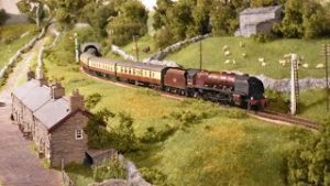Steam Trains at Speed – Yorkshire Dales Model Railway