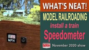 Install a track speedometer | December 2020 WHATS NEAT Model Railroad Hobbyist