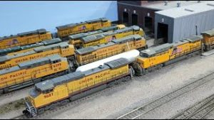 Ops Video – Trains depart Proviso. Model Train Layout Built for Operations and Realism. S2019 E31