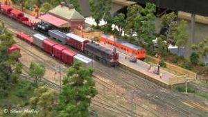 Miniature Trains : Hobsons Bay Model Railway Exhibition 2014