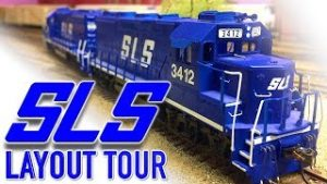 Salt Lake Southern HO Scale Model Railroad Layout Tour with Gary Petersen