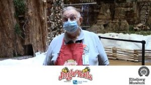 """Learn how """"Jingle Rails"""" volunteers care for the G-scale model trains"""
