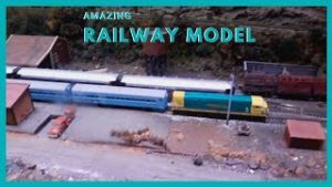 Amazing Model Railway, British Railway Model, Model Trains