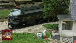 Large Scale Model Trains Shelby & Sparta G Gauge Garden Railroad 09/08/19
