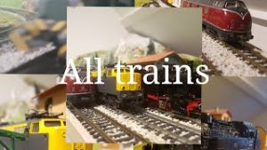 All trains [model railway] (pt.1)