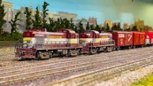Beautiful Private Model Railroad HO Scale Gauge Train Layout Citrus Model RR Club