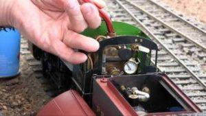 Preparing A Live Steam Model Train