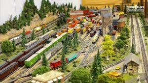 Beautiful Private Model Railroad N Scale Gauge Train Layou at the Crossville Model Railroad Club