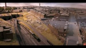 Incredible Copenhagen Fields model railway layout