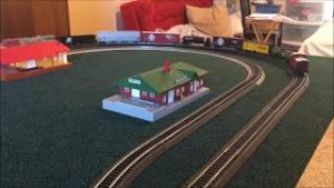 My First Model Train Video of 2021