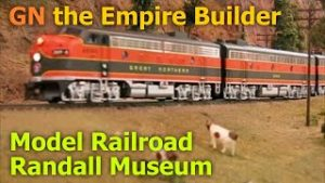 Great Northern Empire Builder at the Randall Museum Model Railroad