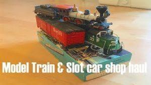 Slot Car & Model Train Shop Haul