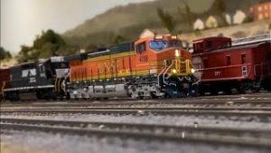 CB&W Model Railroad #1
