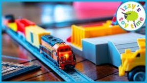 Toy Trains ! POWER TRAINS QUARRY SUPER SET!