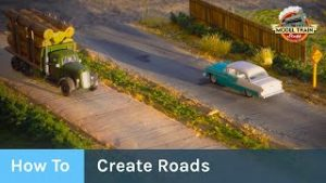 How To Create Roads for Your Model Railroad