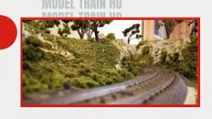 model trains ho scale layouts cab ride | HO Scale hobby model train layout