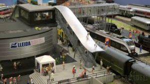Ferromodelismo! One of the most magnificent model railways of Spain: Tren dels Llacs by Jordi Auque