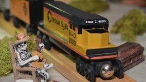 Halloween Toy Trains!