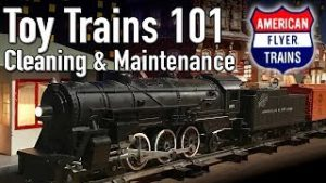 Toy Trains 101 American Flyer Maintenance and Cleaning How To Postwar