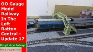 OO Gauge Model Railway In The Loft – Ratton Central – Yet Another New Plan – Update 17