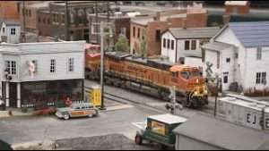 BNSF and NS Trains Running on Will County Model Railroad Club Layout 11/15/20