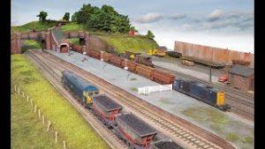 Superb Charwelton model railway layout in OO gauge