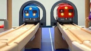 Wooden Train Brio & Wooden Thomas Toy, Tunnel Subway Collection