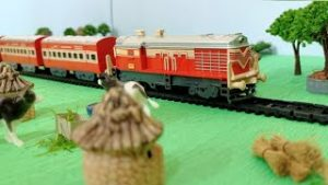 Centy Indian Passenger Model Train | Trains Wonderful Galore 6