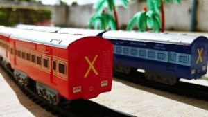 Cucudus play with Centy toys Indian Passenger train | Toy Trains Galore | Rajadhani Train