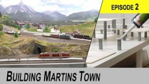 Building a Model Railroad from ground up  – EPISODE 2