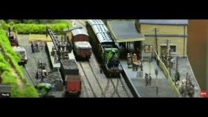Wonderful Woodcroft Model Railway Layout
