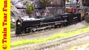 Awesome N Scale Trains and Model Railroads at Train Show!