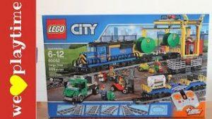 Toy Trains for Kids~ Lego City Cargo Train~
